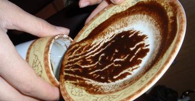 اساس فال قهوه به اشکال مورد مشاهده در فنجان قهوه مربوط می شود