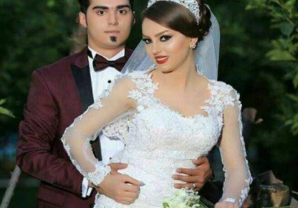 ازدواج عروس وداماد